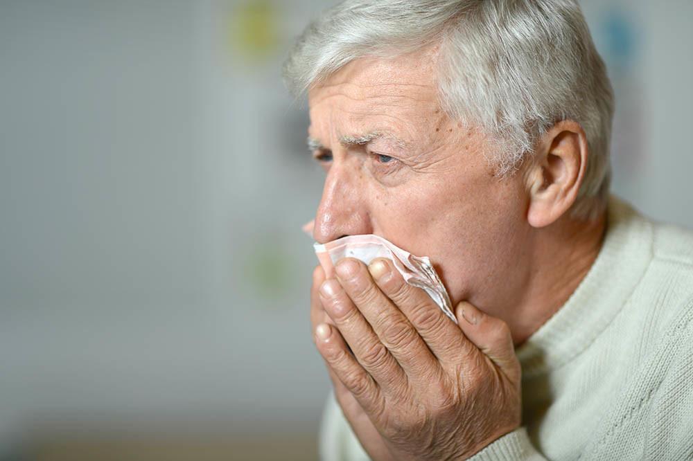 Anziano con tosse e la BPCO